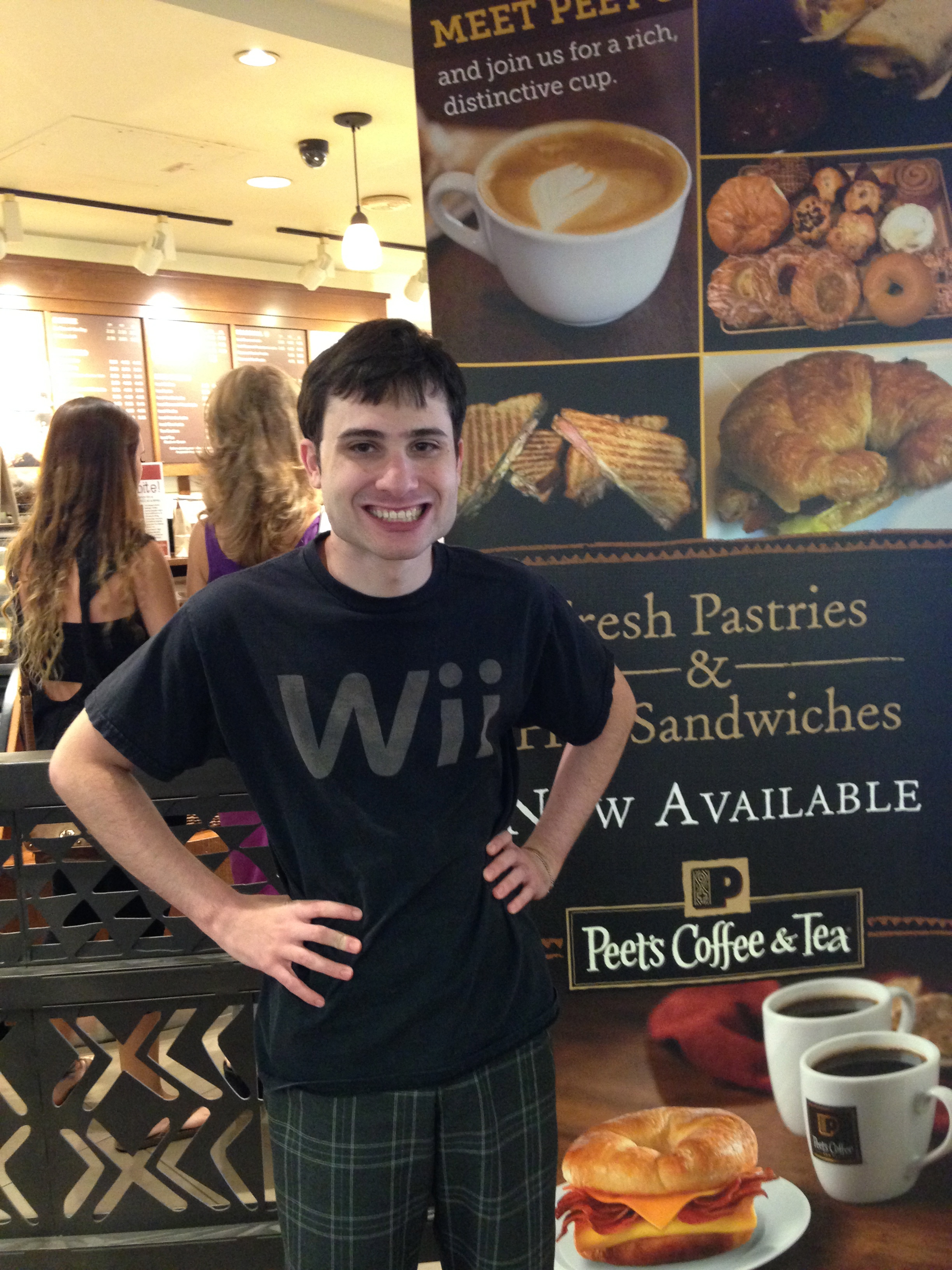Matt at Peet's Coffee & Tea