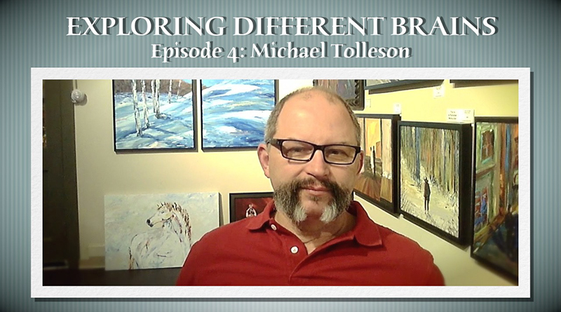 Autistic Savant Artist Michael Tolleson | EXPLORING DIFFERENT BRAINS – Episode 04