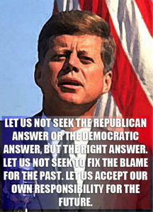 JFK Quote for Hackie Blog