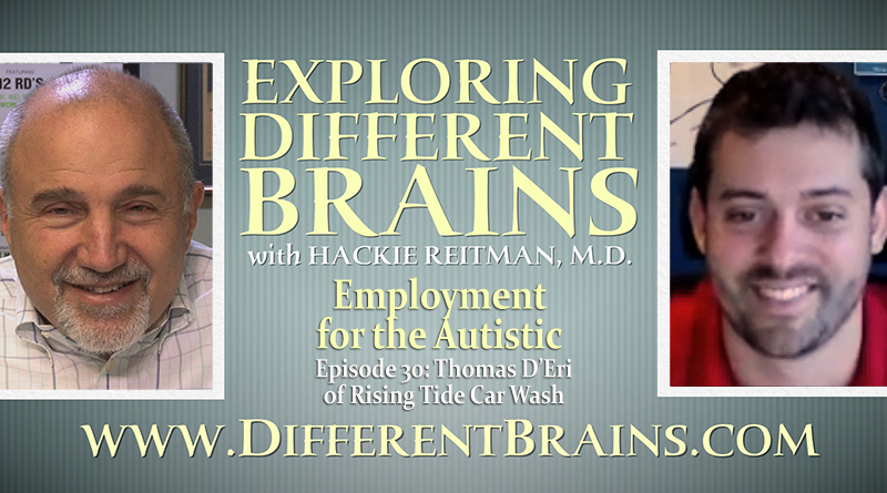 Employment For The Autistic With Thomas D'Eri Of Rising Tide Car Wash | EDB 30