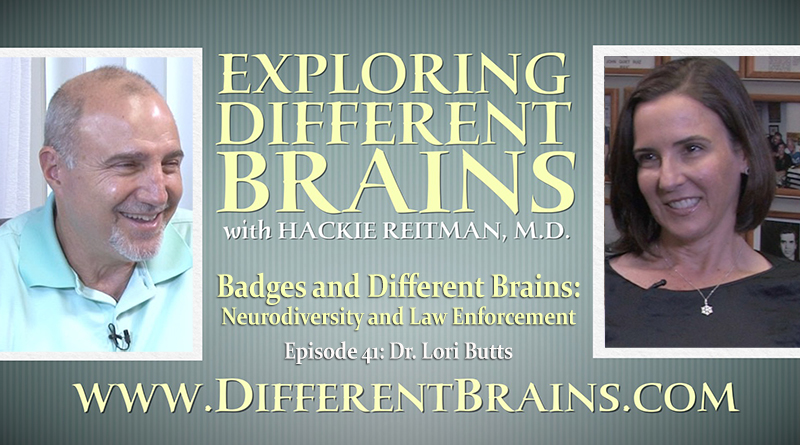 Badges And Different Brains: Neurodiversity And Law Enforcement With Dr. Lori Butts | EDB 41