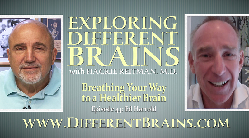 Breathing Your Way To A Healthier Brain, With Ed Harrold | EDB 44