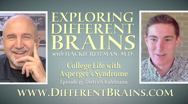 College Life With Asperger's Syndrome, With Dietrich Kuhlmann | EDB 45