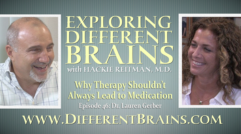 Why Therapy Shouldn't Always Lead To Medication, With Dr. Lauren Gerber | EDB 46