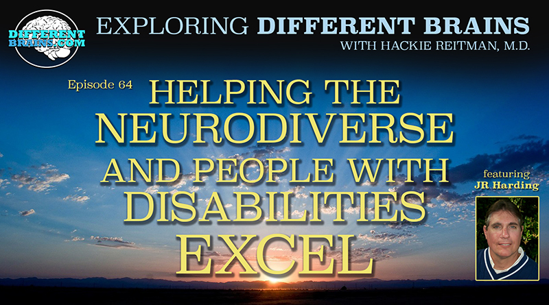 Helping The Neurodiverse And People With Disabilities Excel, With JR Harding Of FSU | EDB 64