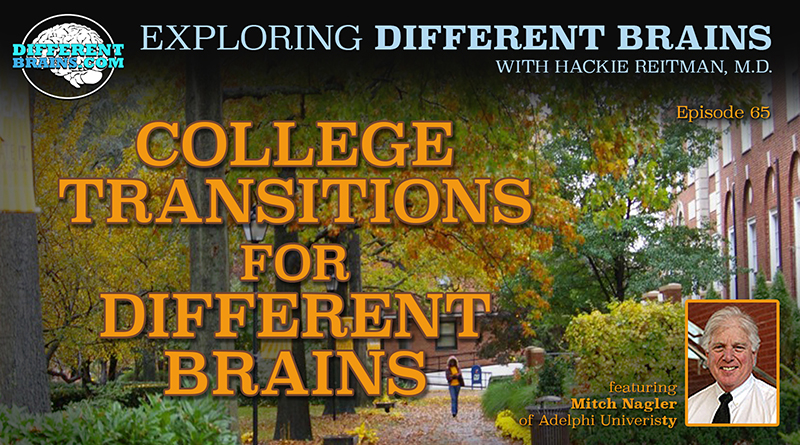 College Transitions For Different Brains With Mitch Nagler From Adelphi University | EDB 65