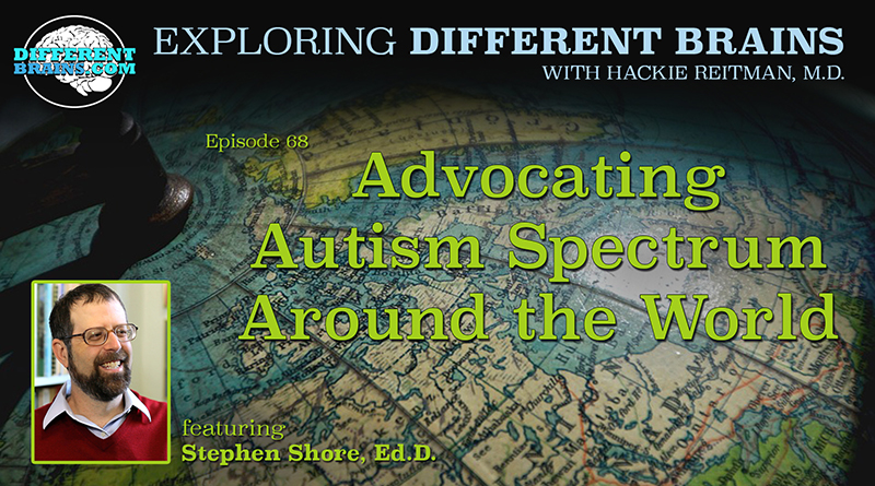 Advocating Autism Spectrum Around The World, With Stephen Shore | EDB 68