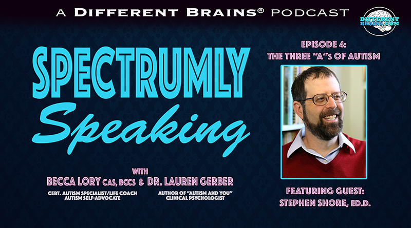 "The Three ""A""s Of Autism, With Dr. Stephen Shore 
