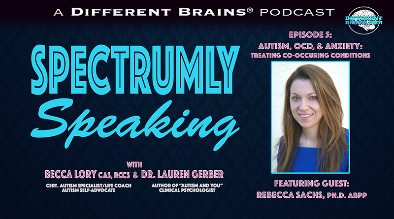 Autism, OCD, & Anxiety: Treating Co-Occuring Conditions, With Dr. Rebecca Sachs | Spectrumly Speaking Ep. 5