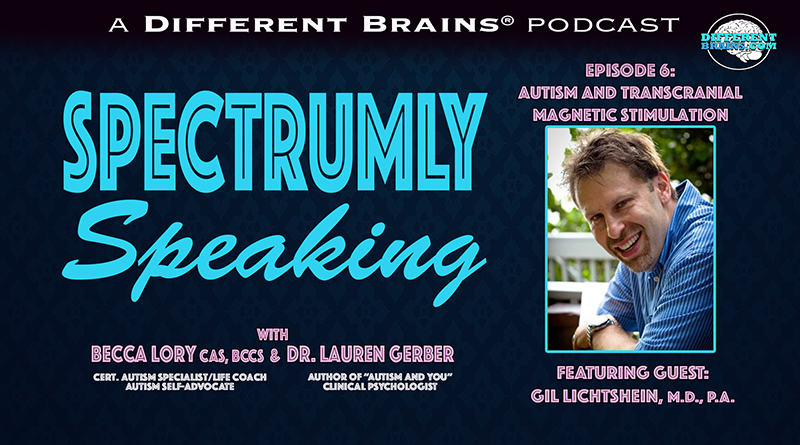 Autism And Transcranial Magnetic Stimulation, With Dr. Gil Lichtshein | Spectrumly Speaking Ep. 6