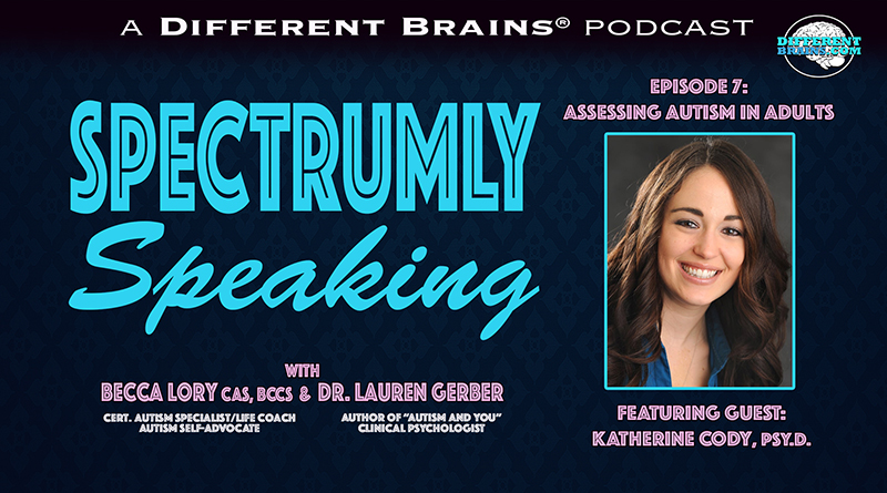 Assessing Autism In Adults, With Dr. Katherine Cody | Spectrumly Speaking Ep. 7