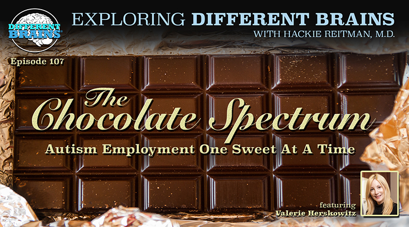 The Chocolate Spectrum: Autism Employment One Sweet At A Time, W/ Valerie Herskowitz | EDB 107