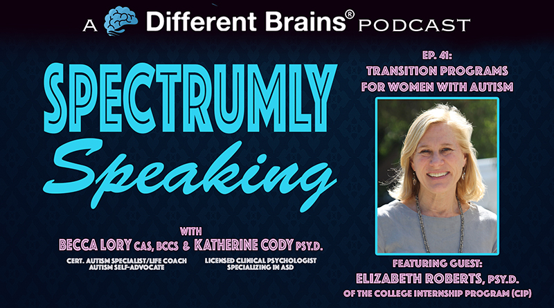 Transition Programs For Women With Autism, With Elizabeth Roberts, PsyD Of CIP | Spectrumly Speaking Ep. 41