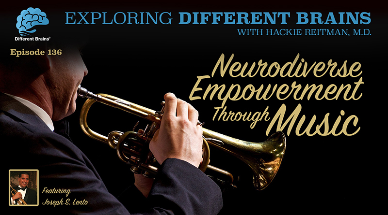 Neurodiverse Empowerment Through Music, With Joseph S. Lento  | EDB 136