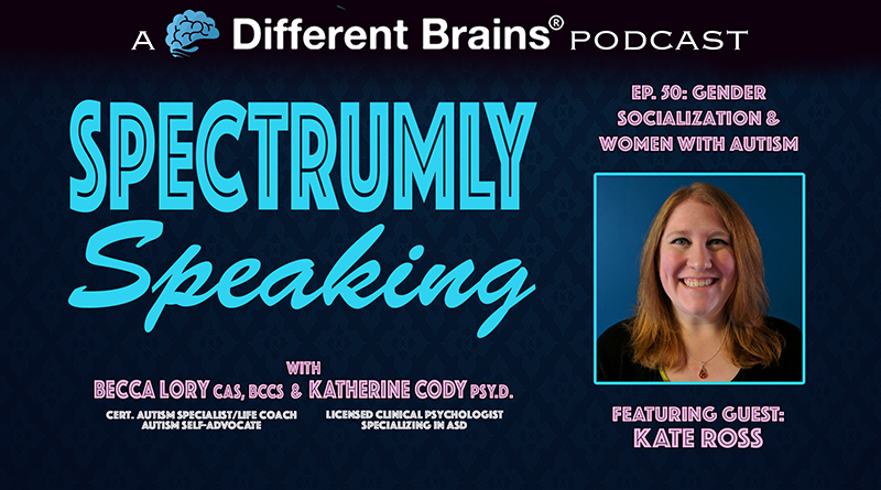 Gender Socialization & Women With Autism, With Kate Ross | Spectrumly Speaking Ep. 50