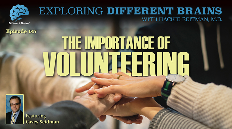The Importance Of Volunteering, With Casey Seidman | EDB 147