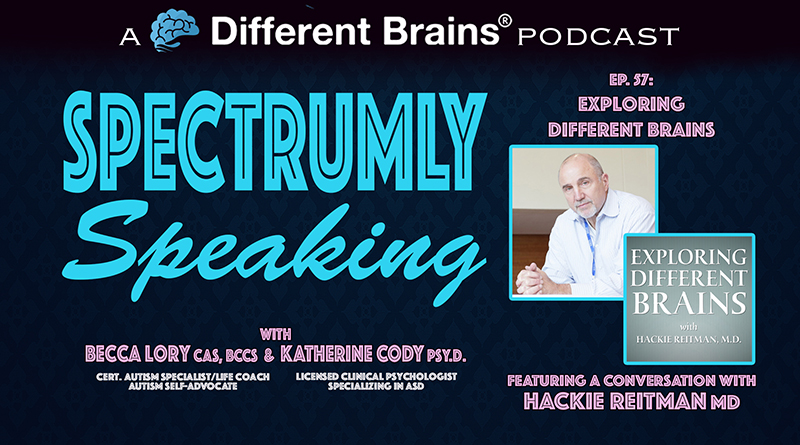 Exploring Different Brains: A Conversation With Dr. Hackie Reitman | Spectrumly Speaking Ep. 57