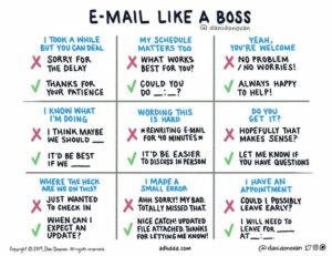 Graphic - Email Like A Boss