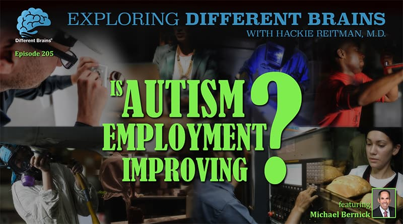 Cover Image - Is Autism Employment Improving? With Michael Bernick | EDB 205
