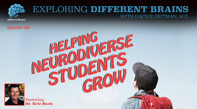Cover Image - Helping Neurodiverse Students Grow, With Dr. Eric Nach | EDB 208