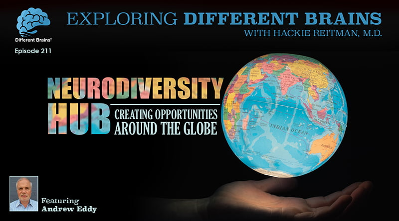 Cover Image - Neurodiversity Hub: Creating Opportunities Around The Globe, With Andrew Eddy | EDB 211