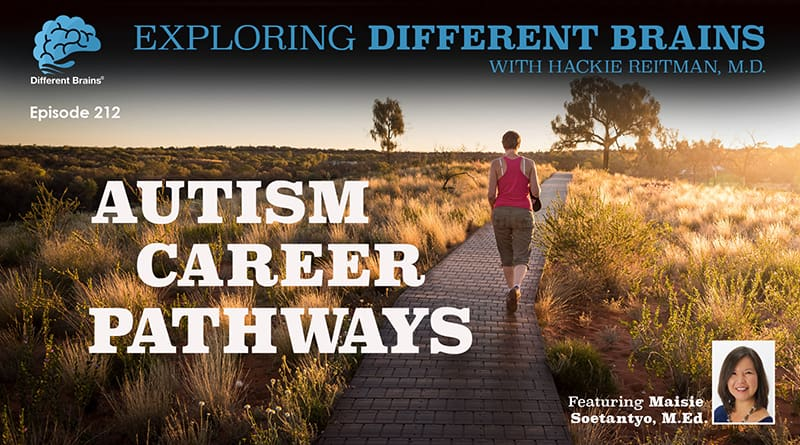 Cover Image - Autism Career Pathways, With Maisie Soetantyo, M.Ed. | EDB 212