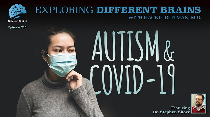 Cover Image - Autism & COVID-19, With Dr. Stephen Shore | EDB 218