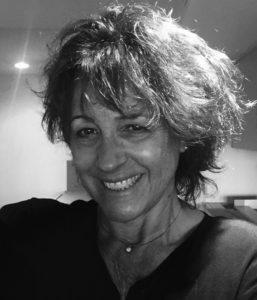 Black and White Image of Anita Smiling
