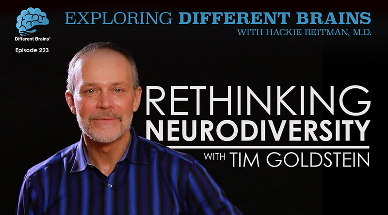 Rethinking Neurodiversity, With Tim Goldstein | EDB 223