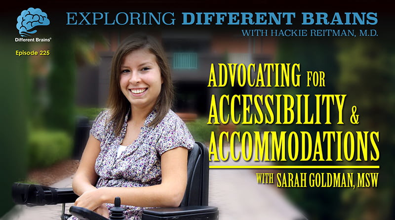Advocating For Accessibility & Accommodations, With Sarah Goldman | EDB 225