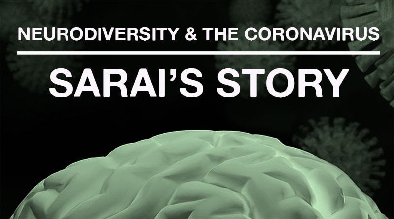 The Coronavirus Pandemic: Sarai's Journey With Anxiety