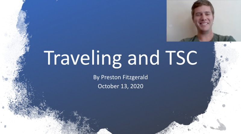 """""""Traveling And TSC"""" By Preston Fitzgerald 