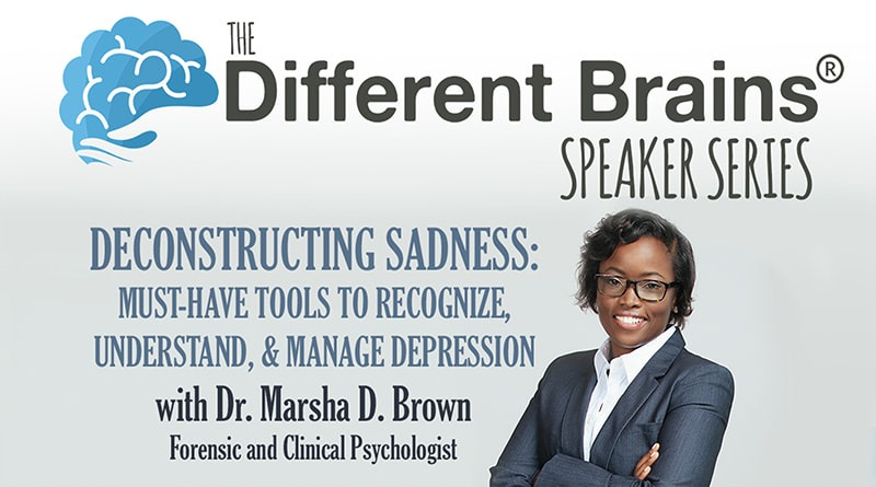 Recognize, Understand & Manage Depression With Dr. Marsha Brown | DB Speaker Series