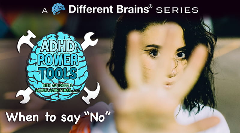 "When To Say ""No"" 