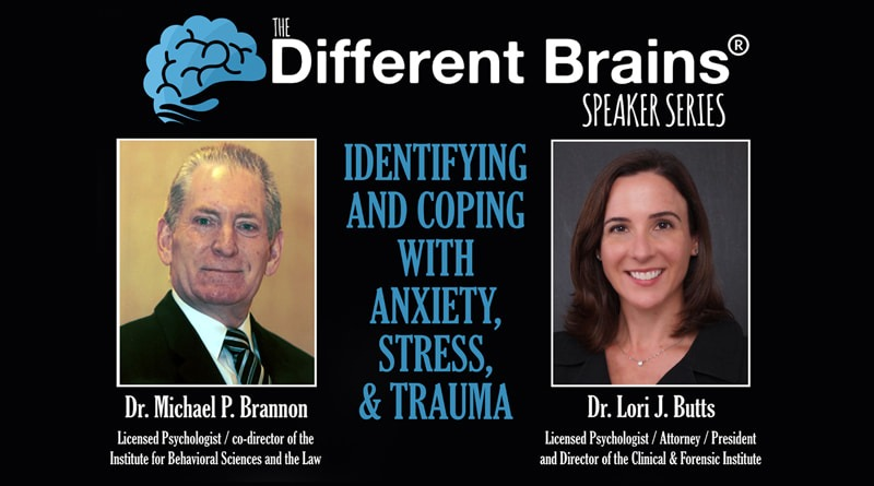 Anxiety, Stress & Trauma With Dr. Michael Brannon & Dr. Lori Butts | DB Speaker Series