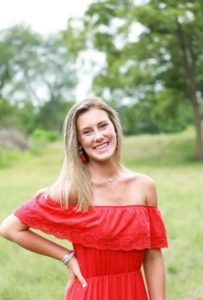 Image of Emily Carter Outside.