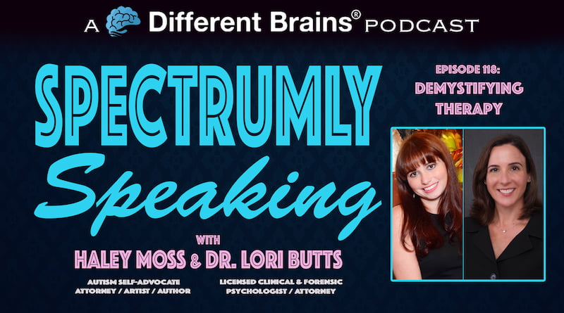 Cover Image - Demystifying Therapy | Spectrumly Speaking Ep. 118